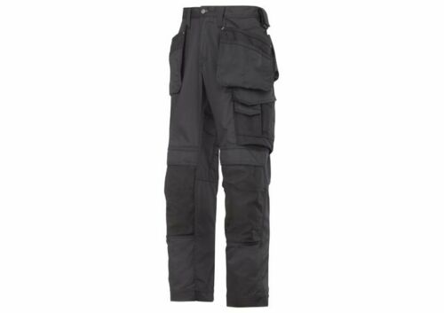 SNICKERS 3211 WORK TROUSERS HOLSTER POCKETS BLACK BRAND NEW WITH TAGS