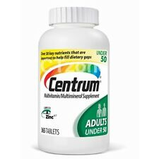365 Centrum Mutivitamin Multimineral Supplement Vitamin Adults 365 Tablets