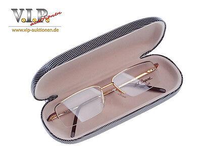 Ehrgeizig St.dupont Brille Sonnenbrille Halfframe Glasses Eyeglasses Occhiali Lunette ОЧКИ Fest In Der Struktur