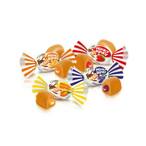 Ukrainian-Sweets-ROSHEN-Chewy-Toffee-Candy-034-Minky-Binky-034-with-Jelly-200g-7-oz