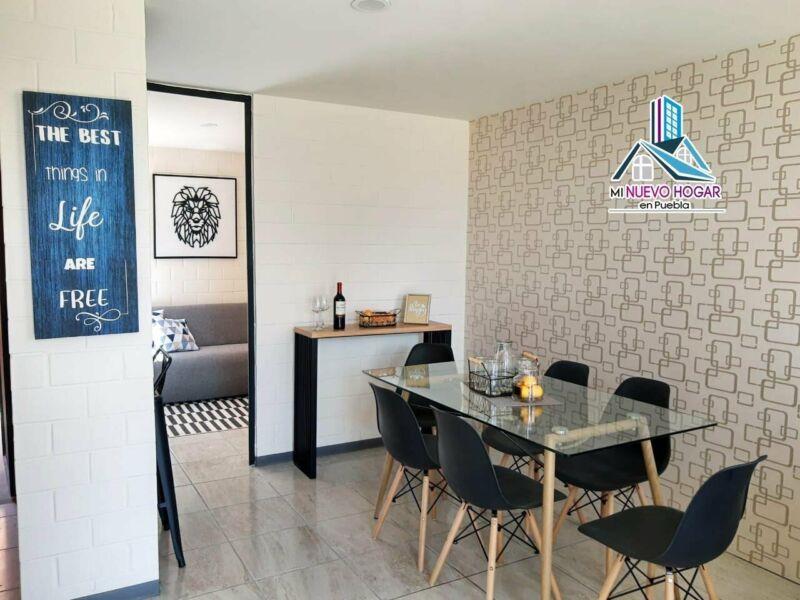 Casas de 3 Recamaras nuevas con Alberca en Puebla