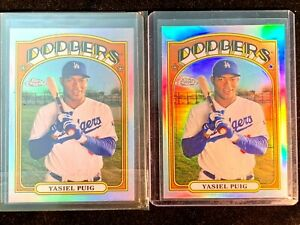 2013 Topps Baseball Cards (Various) Yasiel Puig Rookie Card Lot - Mint, 14 Cards