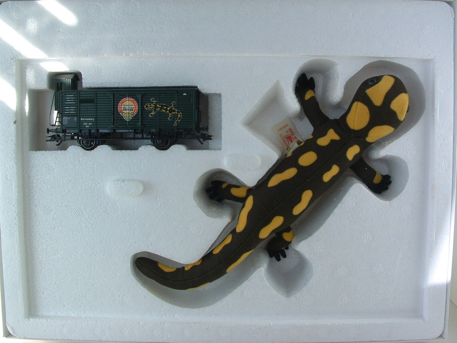 Märklin H0 48806 Sonderwagen mit Steiff Salamander OVP
