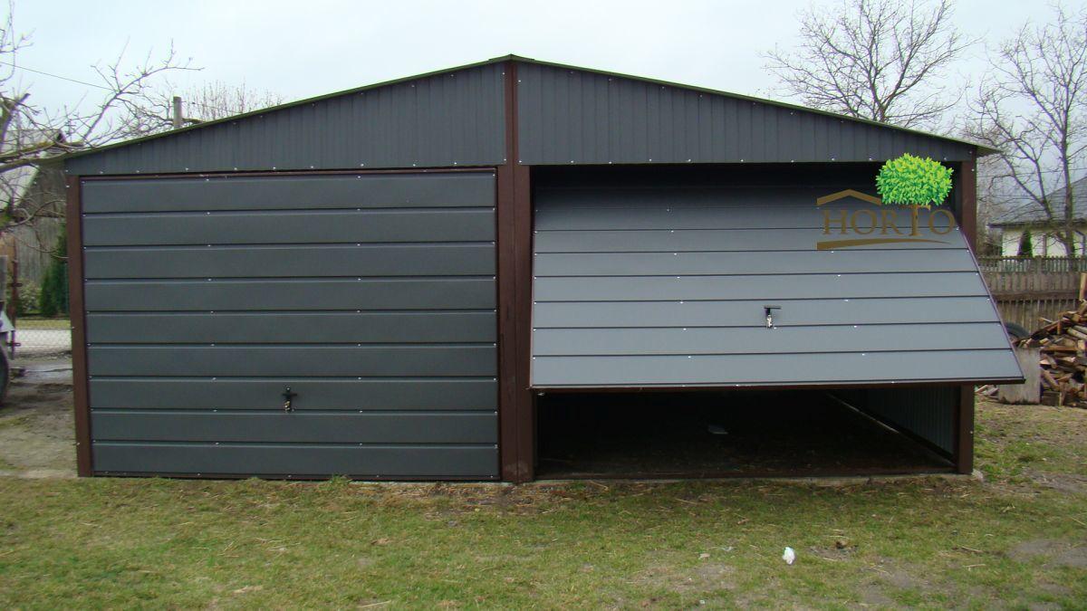 5x5 Schuppen Blechgarage Garage Fertiggarage Metallgarage Cointener halle KFZ