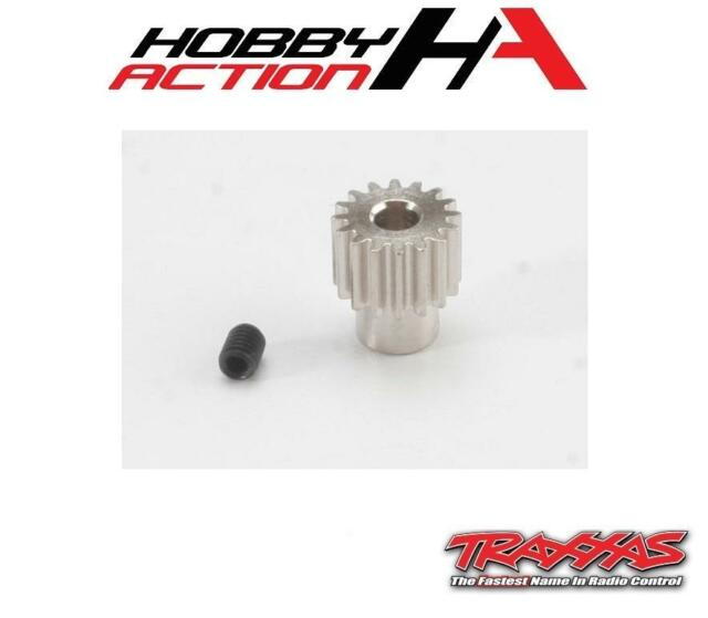 NEW Traxxas 2416 Pinion Gear 16T 48P 1//10 Slash 2WD Rustler Stampede Badit VXL X