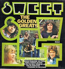 "SWEET The Golden Greats VINYL LP 12"" 1977 RCA PL 25111 BLOCKBUSTER Hell Raiser"
