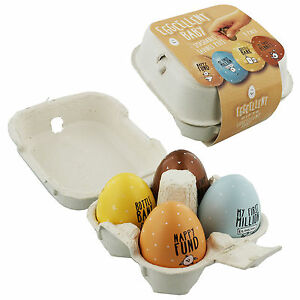 Eggcellent-Set-of-4-Egg-Shaped-Savings-Pots-Money-Bank-Baby-in-Egg-Carton-EG131