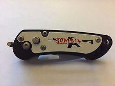 "5"" Mini Assisted Open Zombie Killer AK-47 Design Folding Knife"