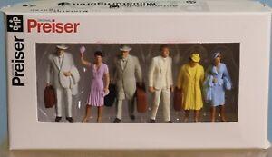 Preiser 65502, Spur 0  1:43,5 / 1:45, Reisende, Passengers, voyager