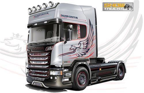 Scania R730 Streamline 4X2 Kit 1:24 Italeri IT3906