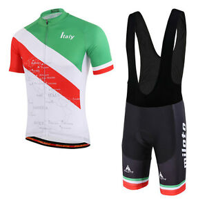 9f2c00b7a Italy Cycling Team Clothes Kit Men s Cycling Jersey and (Bib) Shorts ...