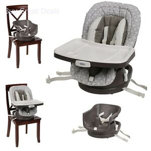 Details about Graco 3V01ABG Swivi Seat 3-in-1 Booster Seat Infant High Chair Abbington New  sc 1 st  eBay & Graco 3V01ABG Swivi Seat 3-in-1 Booster Seat Infant High Chair ...