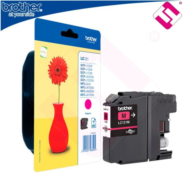 Ink Magenta Original Lc121m Printer Brother MFC J245 Cartridge Offer
