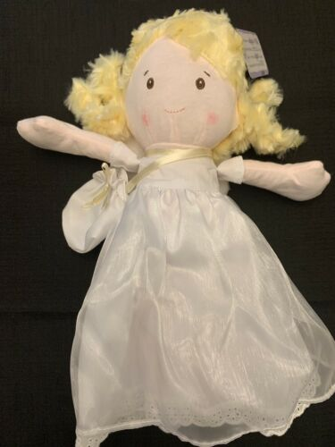 "Ganz 13/"" Wish Angel Doll with pouch HX11489 Plush New with Tags"