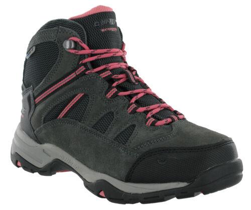 Hi-tec bandera cuir imperméable daim marche randonnée trail pour femme bottes