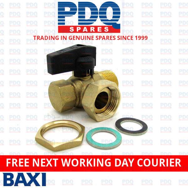 Baxi Duo-Tec, Ecoblue, Neta-Tec, Platinum & Promax Return Valve 720773201 - NEW