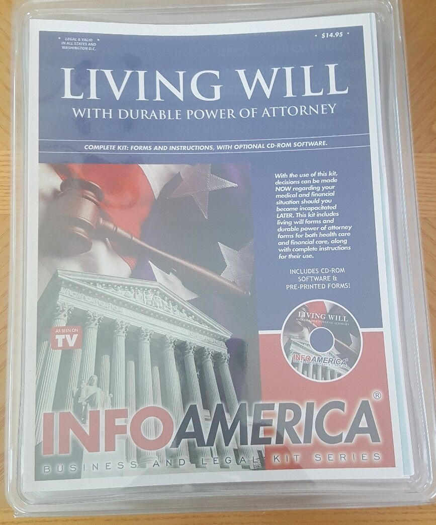 Living Will With Durable Power Of Attorney Kit 1