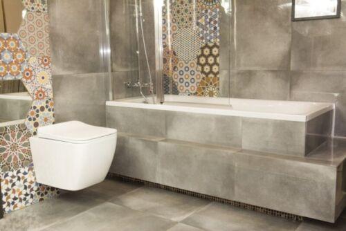 Soft-Close WC-Sitz Wand-WC Lino Domino Lavita Vorwandelement Drückerplatte