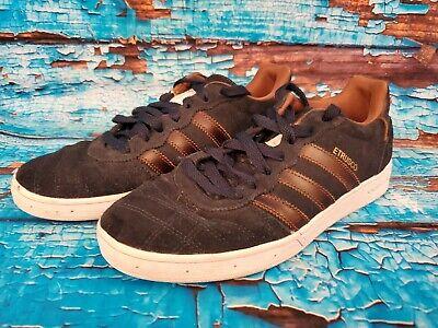 Adidas Originals Etrusco Low Top Skateboarding Shoes Blue Suede Mens Size 7 US | eBay