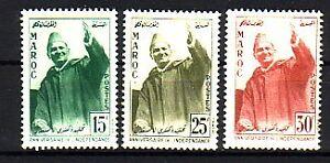 Le Maroc Michel numéro 420 - 422 cachet-afficher le titre d`origine bVPQ25FX-07155727-721739508