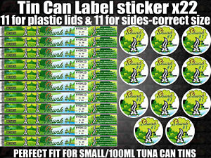 Details about SKUNK #1 Cali pressitin tuna Tin Labels Stickers RX Medical  HIGH QUALITY LABELS