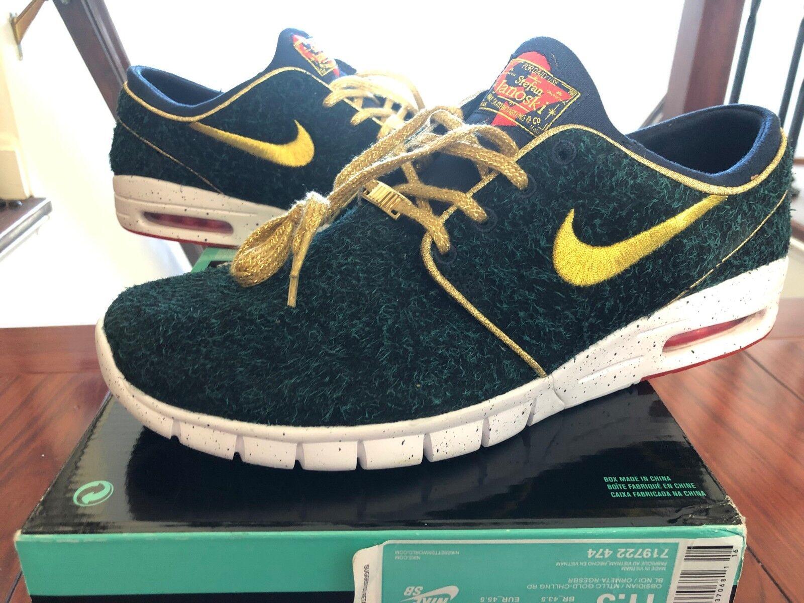 Nike Stefan Janoski Max Dernbecher size 11.5 New with ripped top box. 719722-474