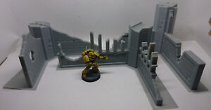 SCENERY-Ruined-Buildings-40K-Warhammer-Infinity-Bolt-Action