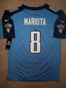 Hot IRREGULAR* Tennessee Titans MARCUS MARIOTA nfl NIKE Jersey Youth (L  hot sale