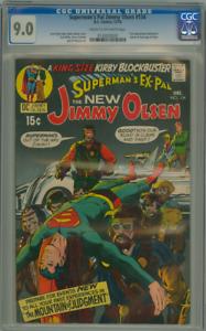 SUPERMAN'S PAL JIMMY OLSEN 134 CGC 9.0 1st APPEARANCE DARKSEID! DC