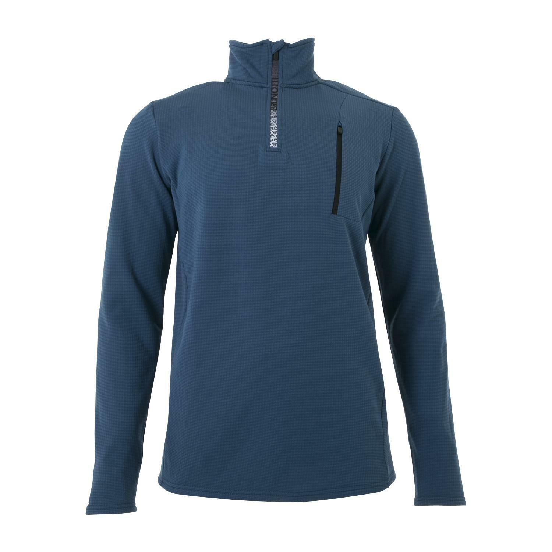Brunotti Fleecepul r Pulli Wetcat  W1819 Men Fleece blue wärmend  free shipping worldwide