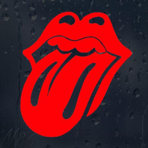 Roling Stones Tongue Car Window Windscreen Body Panel Laptop Decal Vinyl Sticker