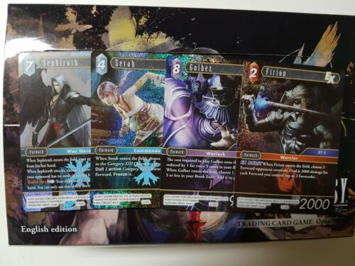 Final Fantasy Trading Card Game Opus VII Premium (Foil)  - YOU PICK FROM LIST!