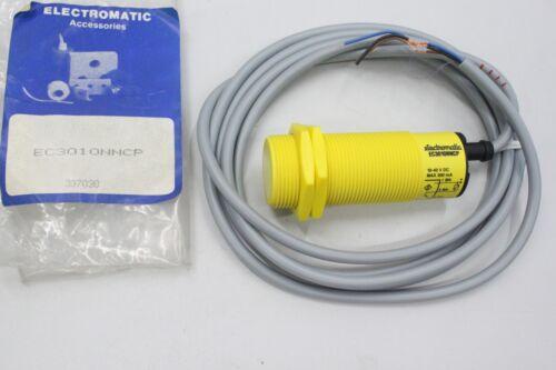 ELECTROMATIC EC 3010 NNCP 10mm M30 Näherungsschalter Kapazitiv EC3010NNCP OVP