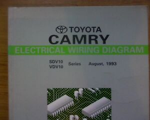image is loading 1993-toyota-camry-sdv10-vdv10-electrical-wiring-diagrams-