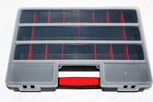 Werkzeugkiste Organizer Werkzeugkoffer Aufbewahrungsbox Angeln Köderbox Koffer