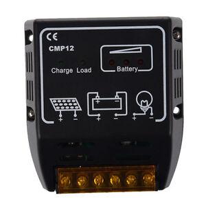 10a Pwm Panneau Solaire Tableau Pile Contrôleur de Charge 12v 24v- Voltage 1f8gXLr4-07141334-513755714