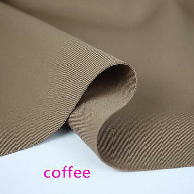 """Coffee Thick Stretch Spandex Fabric knitted fabric clothing jacket 60"""" BTY"""