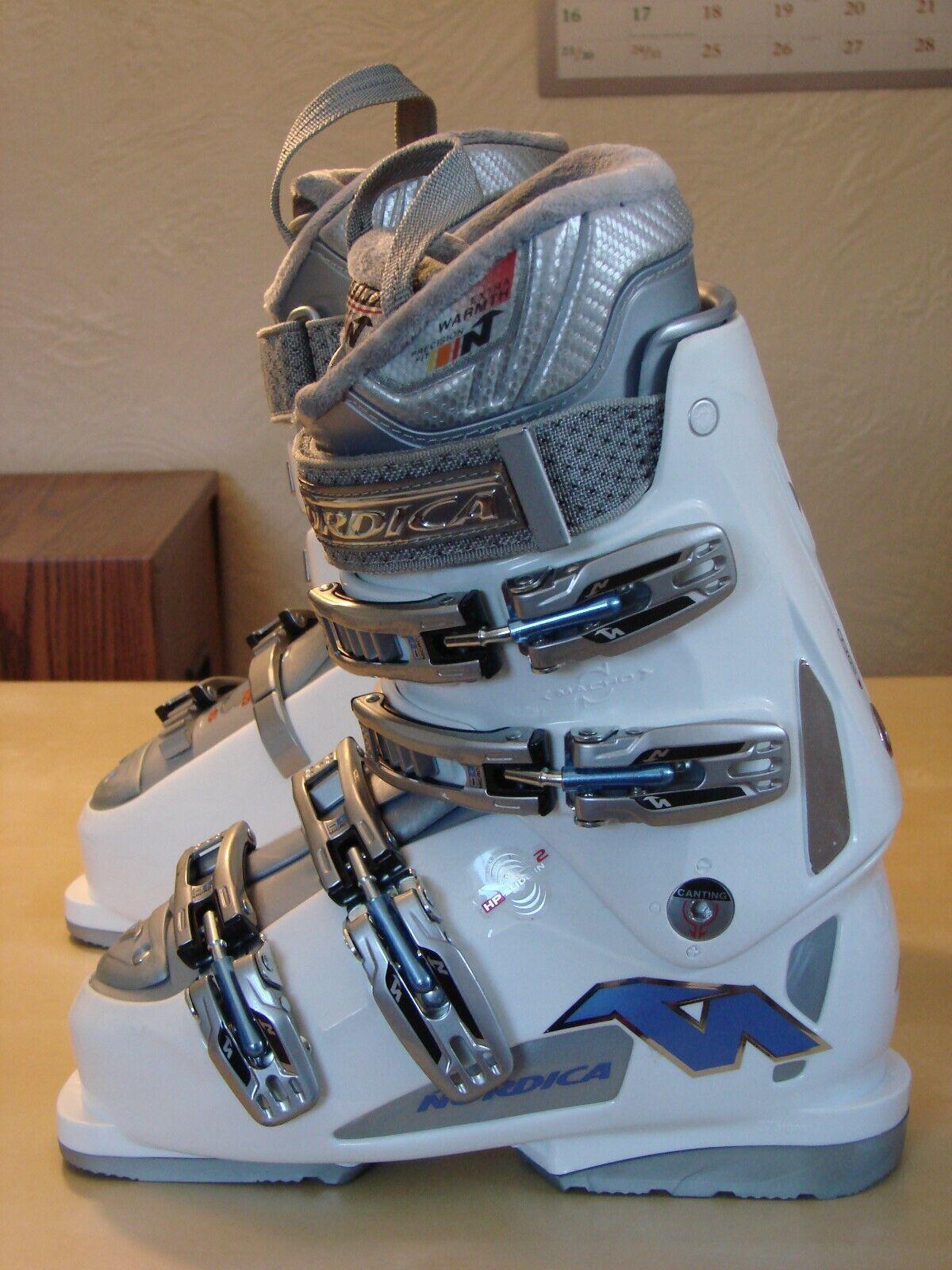 Nordica daSie Noncomfortable 65533; s GTS Alpine Ski Stiefel Größe 6.5 US   23.5 MP