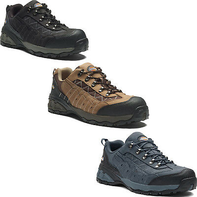 Sizes 6-12 Dickies Gironde Safety Work Boots Brown Men/'s Shoes