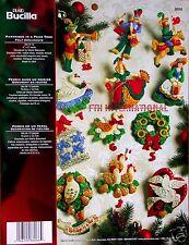 Bucilla 12 Days of Christmas ~ Felt Ornament Kit #86066 Partridge in a Pear Tree