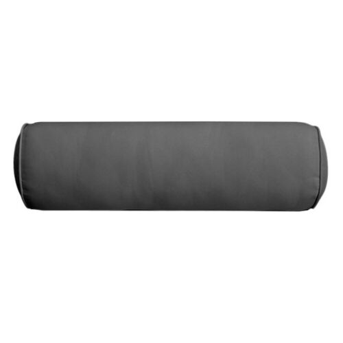 AD003 Piped Trim Small 23x6 Bolster Pillow Slip Cover Only