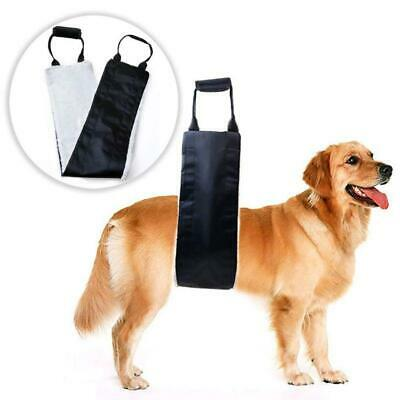 """Double Layer Support Harness Pet Sling Dog Lift Large /"""" Medium Dogs Straps Hip"""