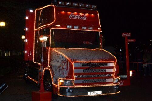 New Coca Cola Mini Ice Bucket /& Ice Tongs With Iconic Polar Bears Christmas Gift