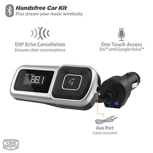 Scosche BTFMSR-SP1 Bluetooth FM Transmitter with USB Port for Mobile Devices