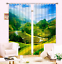 3D Terraces 427 Blockout Photo Curtain Printing Curtains Drapes Fabric Window AU