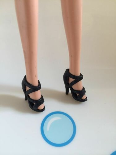 Free shipping  42  paris black Color For  BARBIE DOLL Shoes  5985rt