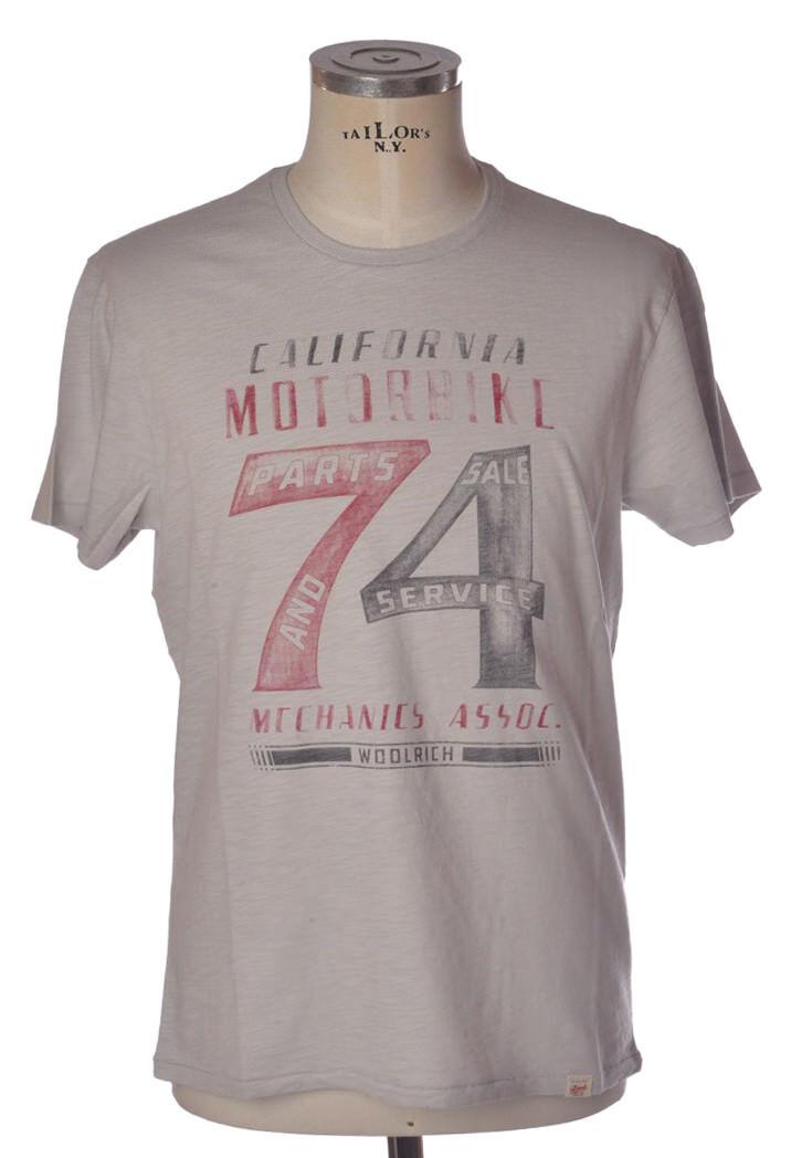 Woolrich - Topwear-T-shirts - man - Grey - 811918C183533