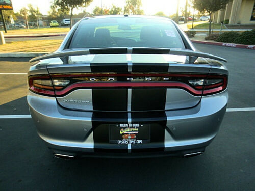 """2016 Dodge Charger 16 Duel Racing Stripes Vinyl Graphic Decal Sticker CUT 10/"""""""