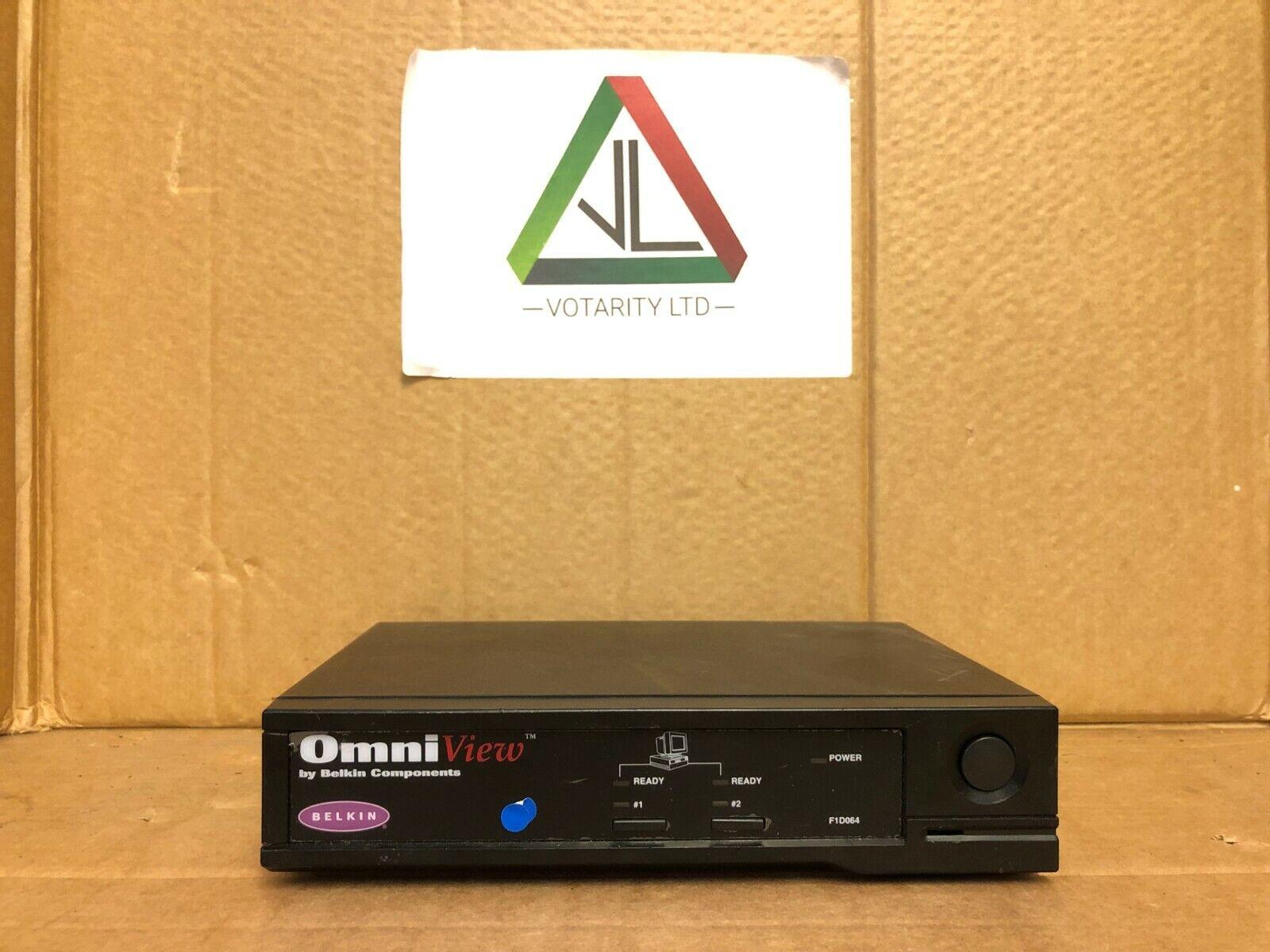OmniView by Belkin Component KVM + No PSU (Keyboard, Video & Mouse) (Inc VAT)