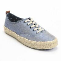 Women's Blue Aiden Sonoma Life + Style Oxford Shoes Sneakers, 8 M, Free S&h